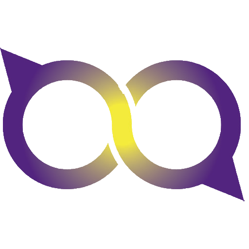 Purple favicon. Showing the two hoops from the Purple logo.