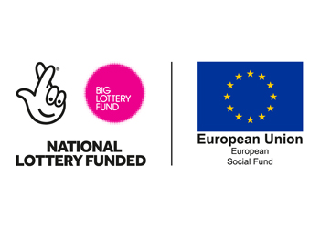 National Lottery funded logo.